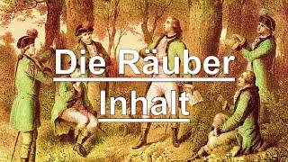 Friedrich Schiller: Die Räuber - Inhalt und Zusammenfassung