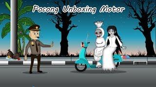 Video Pocong Kena Tilang Ngamuk Unboxing Motor - Kartun hantu Lucu download MP3, 3GP, MP4, WEBM, AVI, FLV September 2019