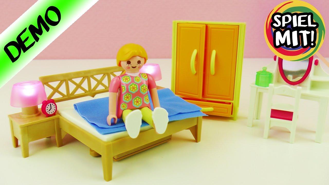 playmobil elternschlafzimmer mit schrank neues bett f r familie vogel in der luxusvilla youtube. Black Bedroom Furniture Sets. Home Design Ideas