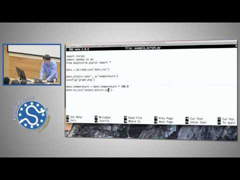 ReciPy Effortless Provenance Tracking for Python | EuroSciPy 2015 | Robin Wilson