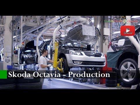 AUTO   Skoda Octavia Production Manufacturing Stars in Czech Republic   0170