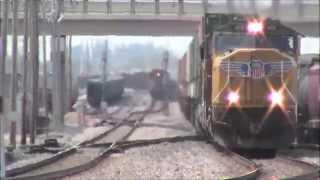 Railfanning 21st St Cedar Rapids, IA