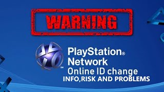 WARNING IF YOU ARE CHANGING YOUR PSN NAME!! (MUST WATCH)