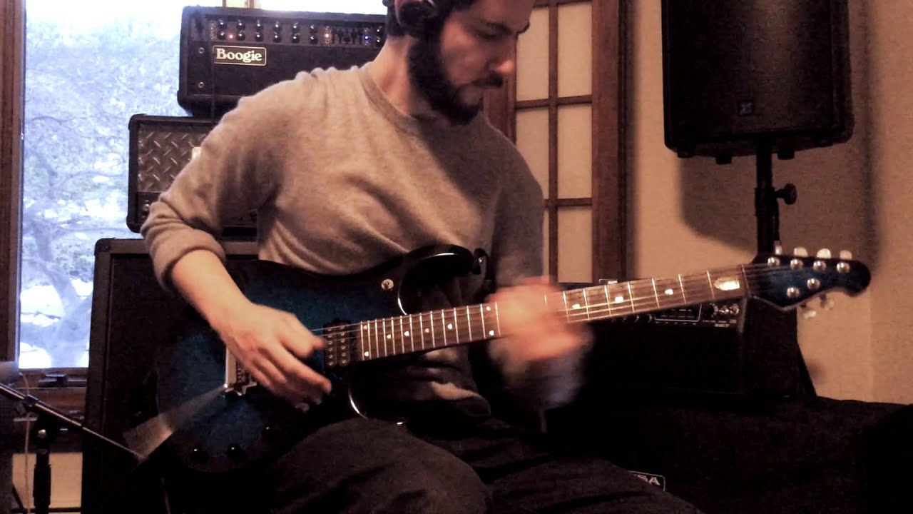 the winery dogs oblivion full guitar cover with loop control