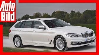 BMW 520d Touring (2017) - Erste Fahrt im neuen 5er Kombi / Review/Details/Test