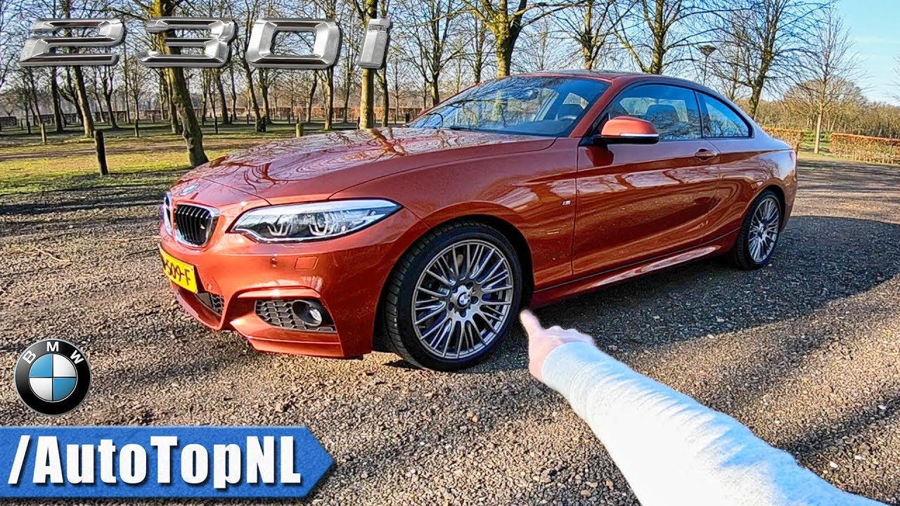 Bmw 2 Series M Sport 230i Review Pov Test Drive By Autotopnl Youtube