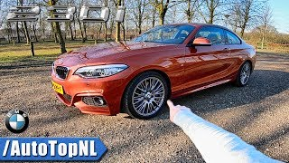 BMW 2 Series M Sport 230i REVIEW POV Test Drive by AutoTopNL