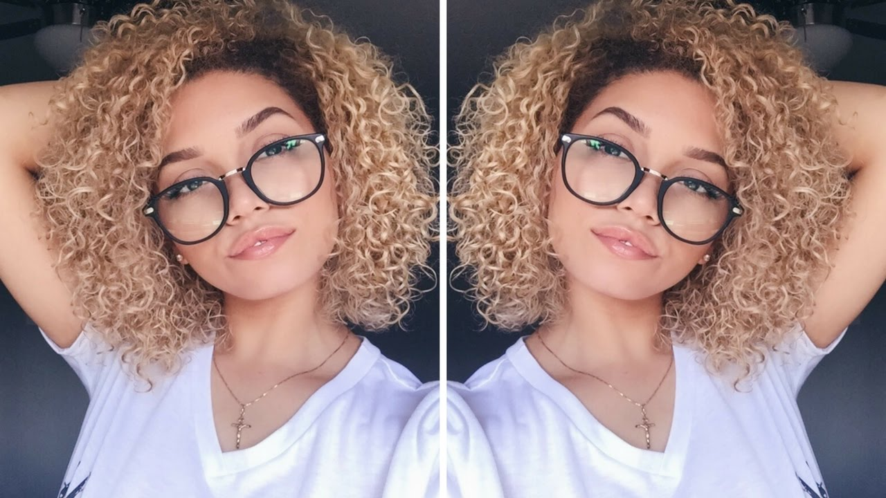 Hairstyles For Short 3a Hair: How I Style My Colour Processed Curls
