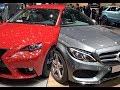 2018 Mercedes-Benz C 200 d vs. 2018 Lexus IS 200t
