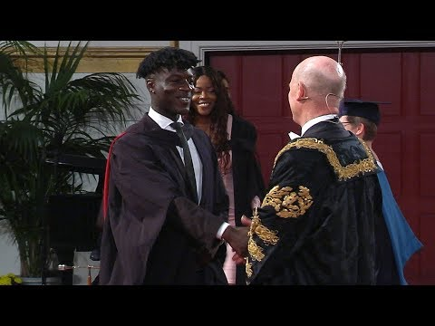 Degree Congregation 3pm Friday 20 July 2018 - University of Leicester