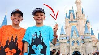 Secret Green Crystal Found At Disney World Magic Kingdom | Twin Toys