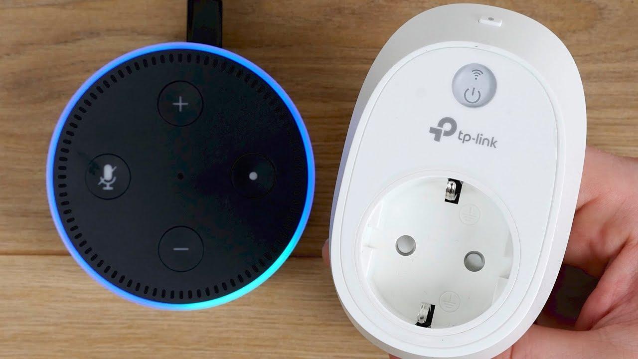 TP-Link WLAN Steckdose HS10 Einrichten & Amazon Echo (Alexa) Integration &  verbinden! // DEUTSCH