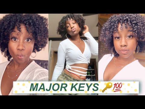 MAJOR KEYS For A DEFINED No Part Twist Out Ft. Selsun Blue Itchy Dry Scalp, Naturals Shampoo