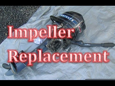 Mercury Impeller Replacement Repair the Water Pump 4 5 6 7 8 9 hp horse Power Outboard Motor