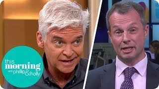 Phillip Questions Police Federation Sergeant on the Rise of Moped Criminals | This Morning thumbnail