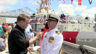 WorkBoat talks with Lt. Thomas R. Osborn, Jr.