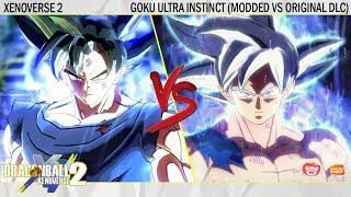 Modded Version vs DLC Version! Which UI Goku is the best !? Dragonball Xenoverse 2