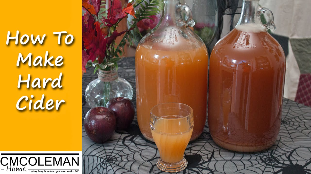 Hard apple cider is simply sweet (nonalcoholic) apple cider that's been fermented to make it an alcoholic beverage. In the United States, back in colonial times, most apples were pressed into cider.