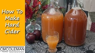 Rustic Hard Cider , make it at home the easy way - CMColeman Home
