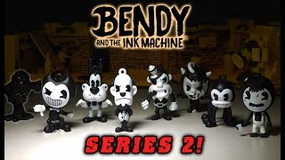 Bendy and the Ink Machine Collector Clips Series 2! New BATIM Keychains Unboxing the Golden BENDY?!