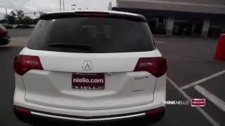 2013 Acura MDX Advance Package SH-AWD SUV | Niello Acura Certified Pre-Owned | Aspen White Pearl