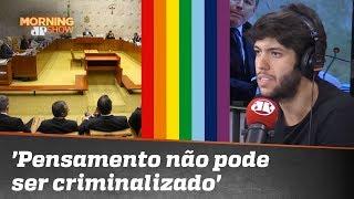 Caio Coppolla sobre Homofobia: