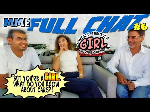 MME Full Chat 6 - What do Girls know about cars?!