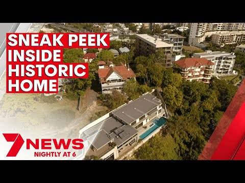 7NEWS takes a sneak peek inside one of Brisbane's most historic homes at Kangaroo Point | 7NEWS