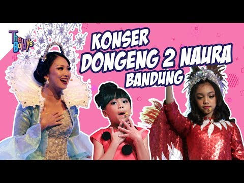 The Baldys - Konser Dongeng 2 Naura (Bandung) | Behind The Scene