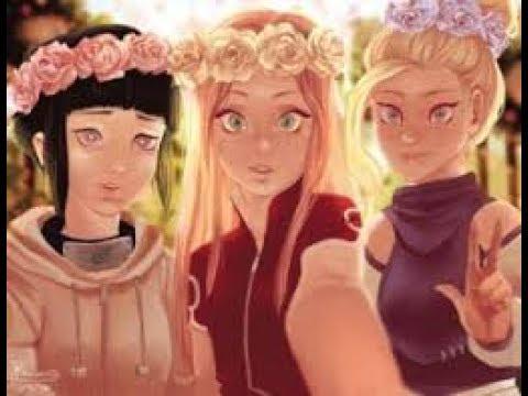 Мы такие девчёнки Ино Хината Темари Тен Тен Сакура аниме картинки фото