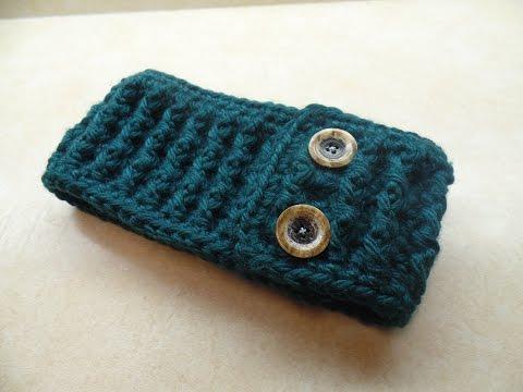 CROCHET How to #Crochet Ribbed Ear Warmer Headband #TUTORIAL #275 LEARN CROCHET