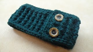 CROCHET How to #Crochet Ribbed Ear Warmer Headband #TUTORIAL #275 LEARN CROCHET DYI