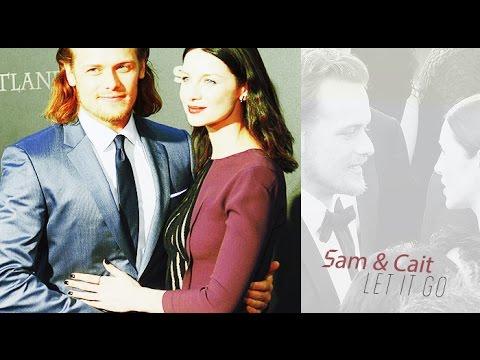 ♥ Sam Heughan & Caitriona Balfe - Let It Go ♥