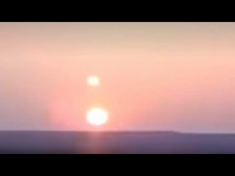 Nibiru: Two Suns Visible Over Japan - Planet X Update 2016