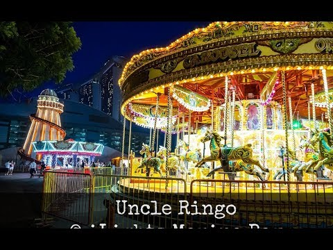 Uncle Ringo ilight Marina Bay 2017