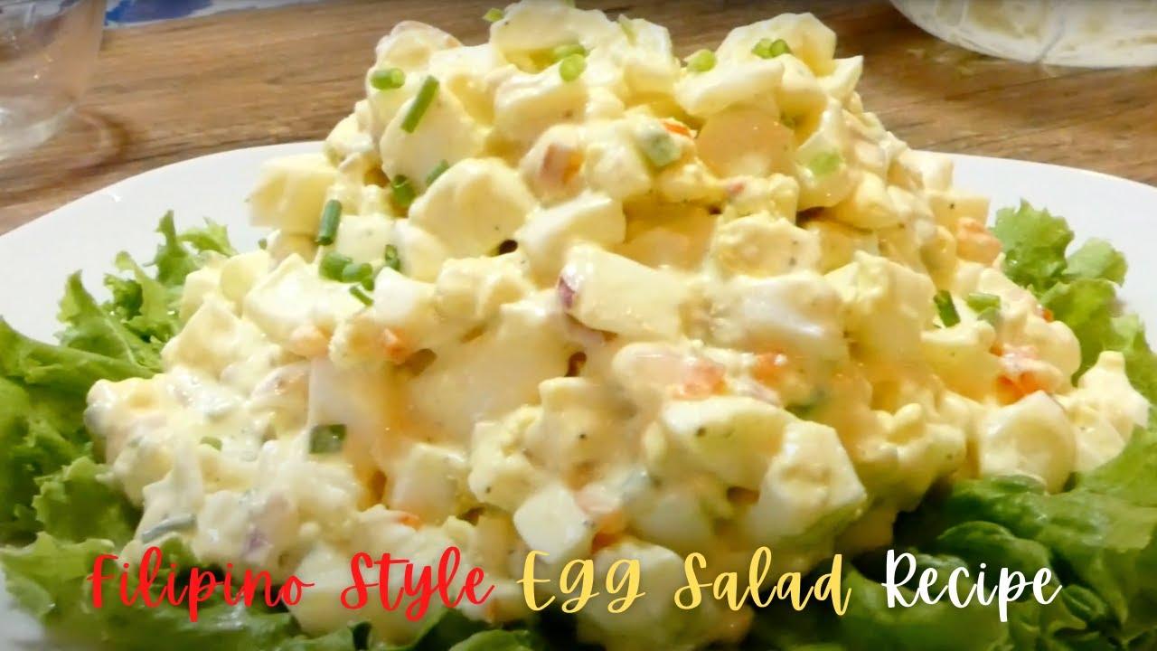 Egg Salad Recipe Filipino Style
