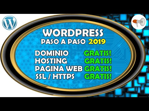 📢 Wordpress #1: Pagina Web GRATIS 2019 Dominio, Hosting, Pagina Web, SSL, curso / tutorial español thumbnail