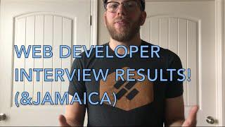 I heard back! Web Developer interview!