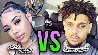 Smokepurpp Roasts 6IX9INE's BM Sara Molina on Live + She Responds