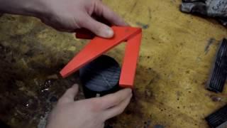 Mittelpunktfinder bauen | Zentrierwinkel | Mittenfinder | Anleitung DIY Holzwerken