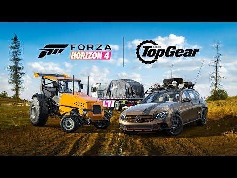 Forza Horizon 4 получила автомобили из Top Gear