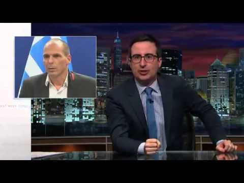Last Week Tonight With John Oliver Pokes Fun at Greece's Finance Minister