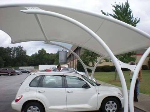 Latest Design Covered Parking Structures Vehicle Parking