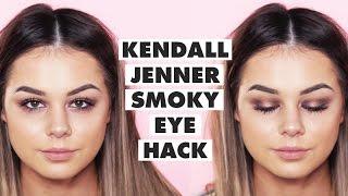 KENDALL JENNER Smoky Eye 3 Product Makeup HACK! w/ Jordan Lipscombe