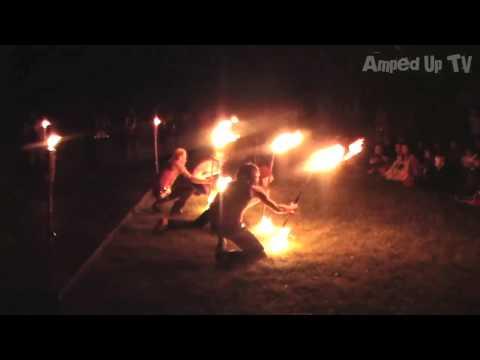 Fire Dancing at Folk Fest (full performance)