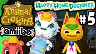 Animal Crossing Happy Home Designer Part 5 Gameplay Walkthrough (day 7 School Visit & Carrie) 3ds