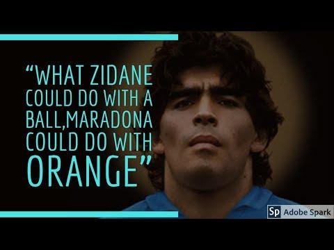 Diego Maradona 'The Golden Boy'  Goals And Skills