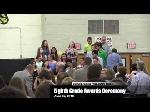 Corning Painted Post Middle School Eighth Grade Awards Ceremony 0