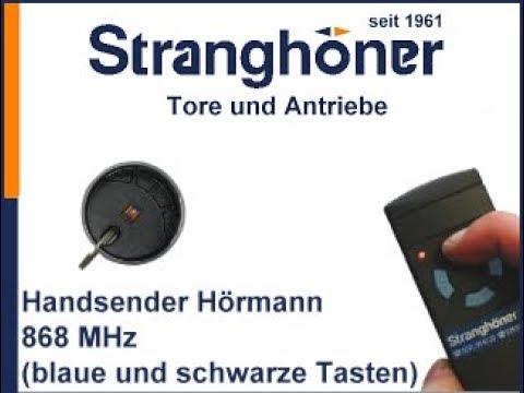 Fabulous Programmierung Hörmann Handsender 868 MHz und BiSecur Sender YD62