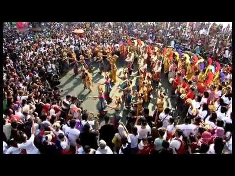 Flash Mob Indonesia Menari